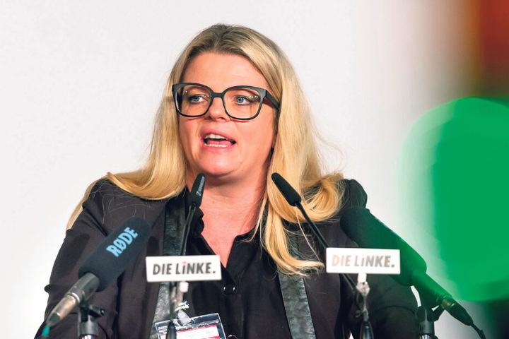 Susanne Schaper (42) geht für Die Linke ins Rennen.