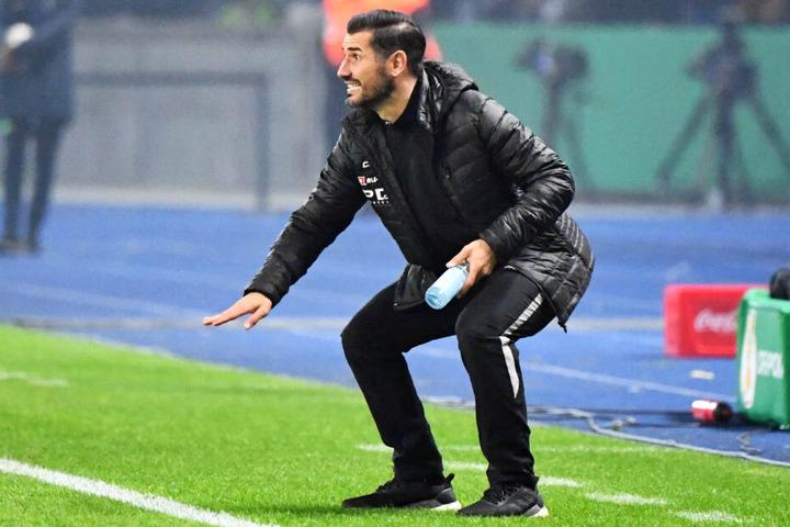 Auch Cristian Fiel erlebte beim Pokal in Berlin einen emotionalen Abend. Am Sonntag heißt es aber wieder 2. Liga.