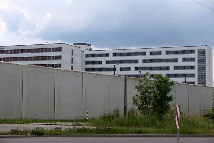 Die Justizvollzugsanstalt in Chemnitz.