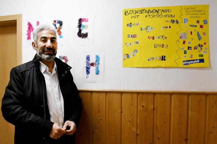 Samy El Hagrasy ist der Vorsitzende des Moscheevereins Arab Nil Rhein.