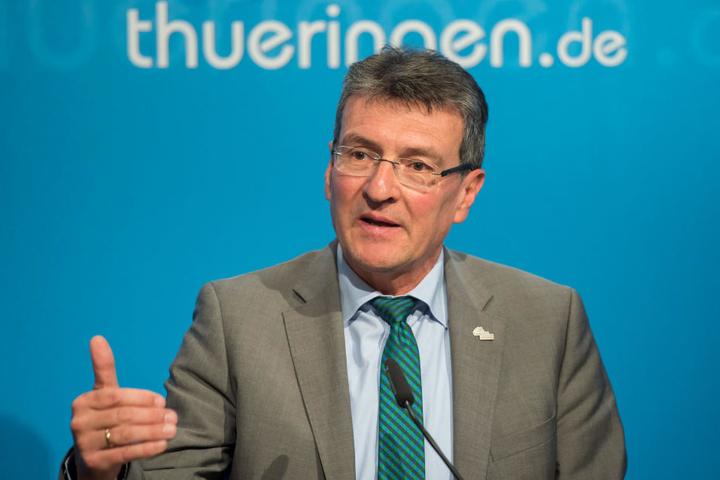 Justizminister Dieter Lauinger sieht grobe Fehler bei den Mitarbeitern der JSA Arnstadt.