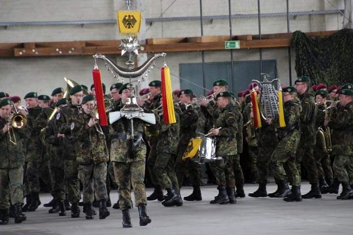 Am 1. März wurden die Soldaten in der Georg-Friedrich-Kaserne zum Einsatz nach Mali verabschiedet.