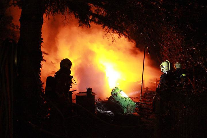 Die Feuerwehr konnte den Brand schnell bekämpfen. (Symbolbild)