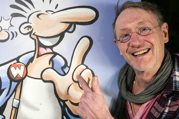 """Rötger Feldmann ist der Zeichner des legendären """"Werner Beinhart!""""-Comics."""