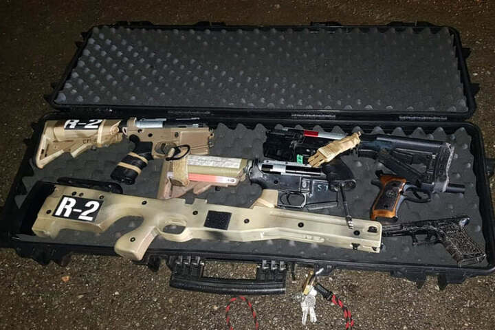 Bei der Kontrolle eines Transporters wurden verbotene Waffen von der Bundespolizei sichergestellt.