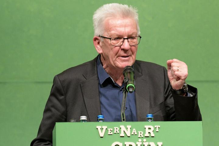 Winfried Kretschmann äußerte sich am politischen Aschermittwoch in Biberach zu den Schülerprotesten.