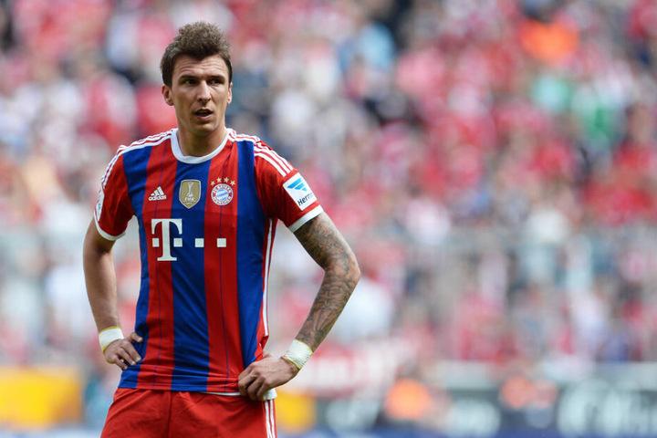 Mario Mandzukic spielte zwischen 2012 und 2014 für den FC Bayern.