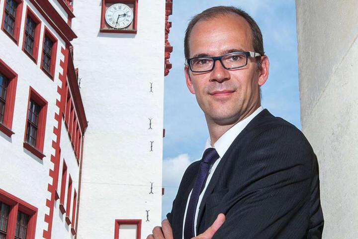 CWE-Chef Sören Uhle (41) lässt sich das Stadtfest nicht vermiesen: Trotz Schlägereien an zwei Tagen sei das Chemnitzer Fest super gewesen.