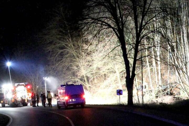 Mehrere Rettungswagen und Sanitäter waren im Einsatz.