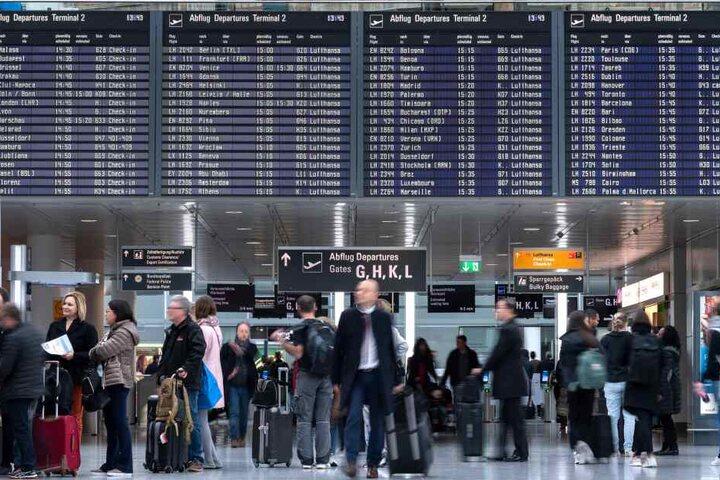 Während der Osterferien wird mit erhöhtem Fahrgastaufkommen am Münchner Flughafen gerechnet.