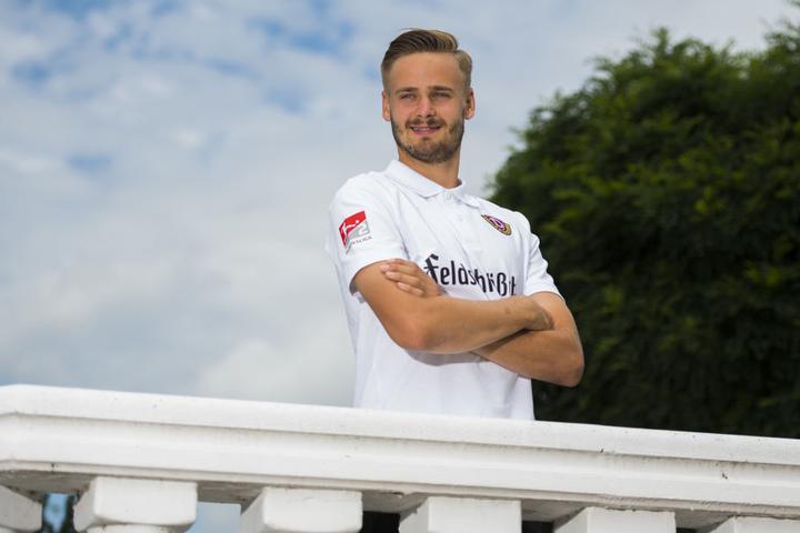 Lucas Röser blickt optimistisch in die Zukunft, er traut sich die zweite Liga zu.