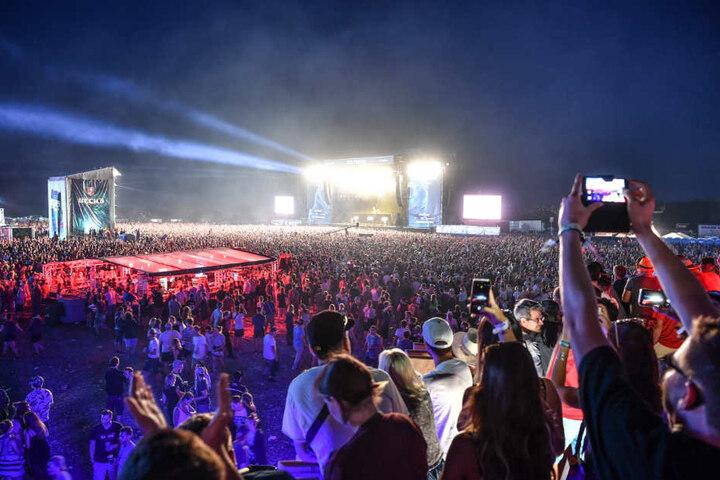 """Das """"Southside"""" gehört zu den größten Festivals für Rockmusik in Deutschland. (Archivbild)"""