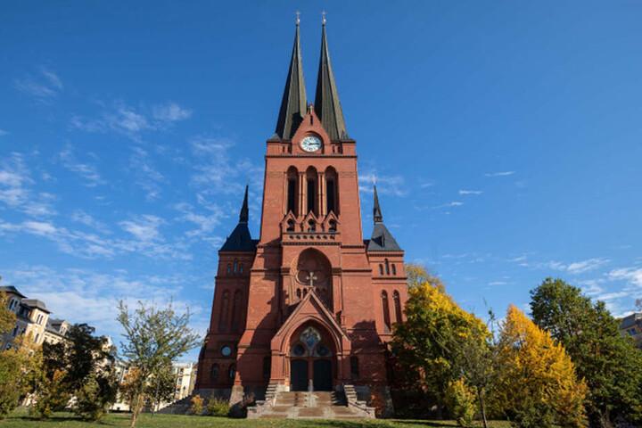Das Konzert findet in der imposanten Markuskirche im Stadtteil Sonnenberg statt.