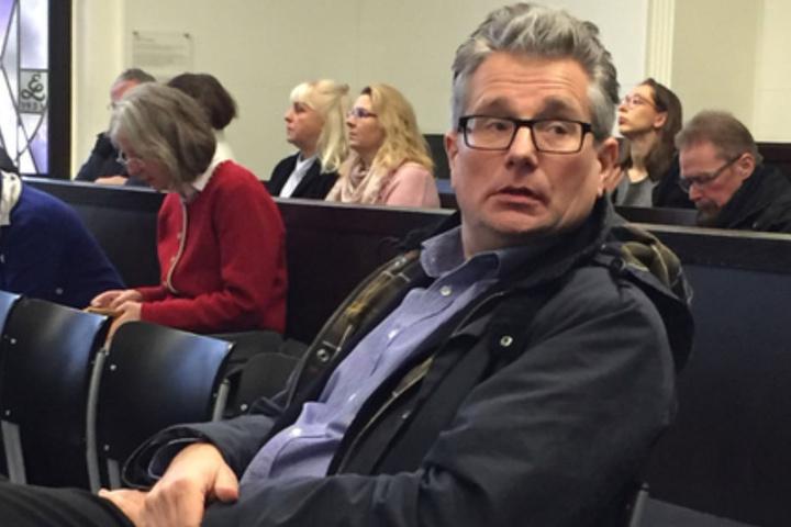 Michael Hintersdorf sagte am Dienstag vor Gericht aus.