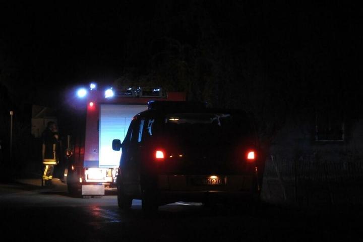 Die Kameraden der Feuerwehr konnten den bockigen Bock schnell befreien.