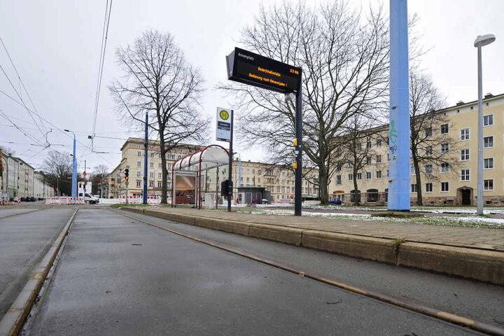 Auch die Straßenbahn-Haltestelle in der Annenstraße soll mit Fördergeld barrierefrei werden.