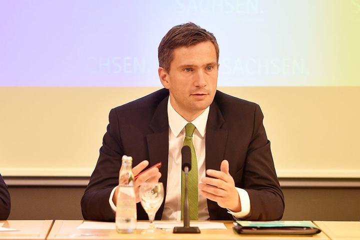 Reist nach Brüssel: Wirtschaftsminister Martin Dulig (42, SPD).