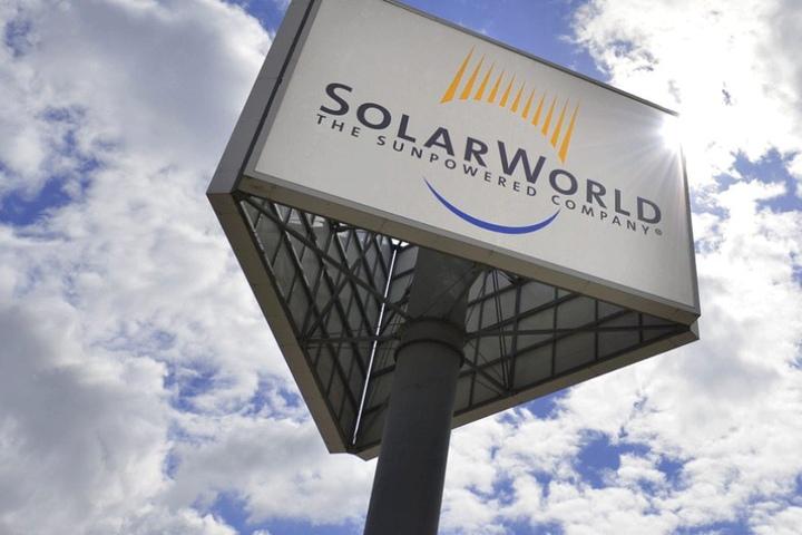 Solarworld in Freiberg trennt sich von 300 Zeitarbeitern.