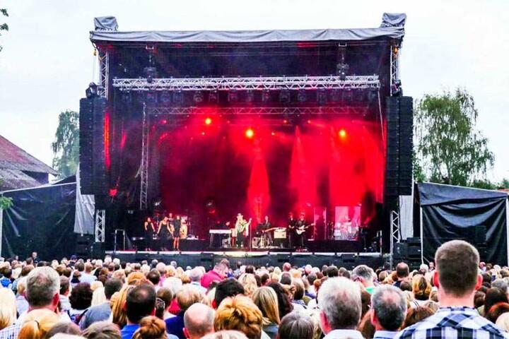 Beim Open Air Festival in Salzkotten treten jedes Jahr große Stars auf: In diesem Jahr gab Sarah Connor ein Konzert.