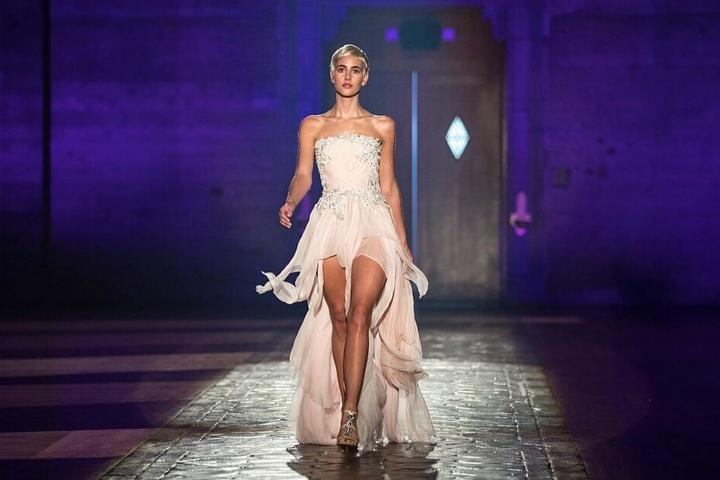 Mit ihrem neuen Look konnte die Kandidatin die Jury überzeugen.