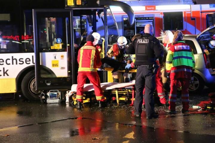 Es soll mehrere Schwerverletzte gegeben haben.
