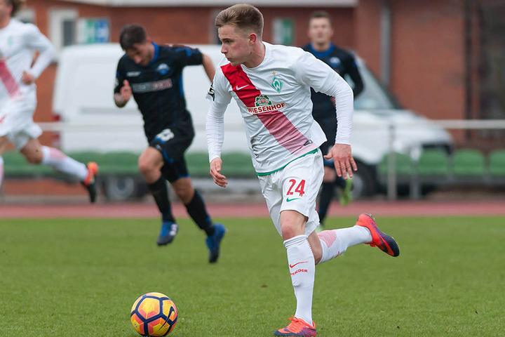 Matchwinner: Durch den Treffer von Johannes Eggestein gewann die U23 von Werder Bremen.