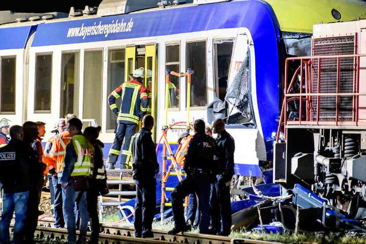 Im Mai 2018 war ein Personenzug ungebremst auf einen stehenden Güterzug aufgefahren. (Archivbild)