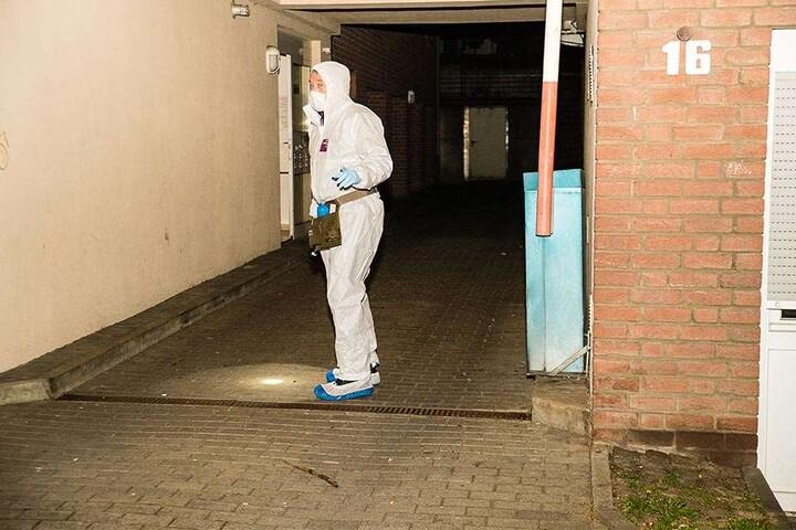 Die Spurensicherung war vor Ort. Foto: www.christian-mathiesen.de