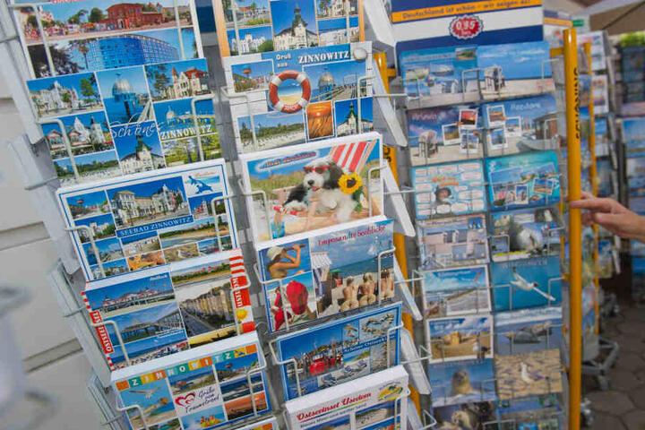 Eine Postkarte von der Ostsee, oder doch lieber ein Foto per Whatsapp?