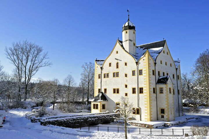 Das Wasserschloss Klaffenbach.