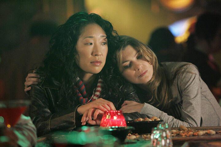 Cristina mit ihrer Freundin und Kollegin Meredith