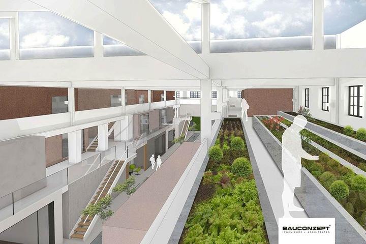 Für die alte Hartmann-Fabrikhalle am Chemnitz-Ufer gibt es neue Pläne. Ein Projektentwickler hat das Gebäude gekauft und will es sanieren.