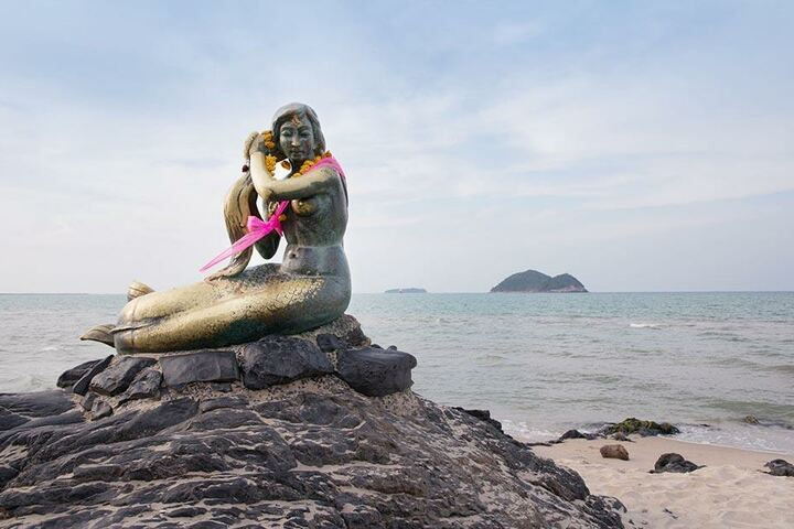 Die Quallen tauchten am beliebten Urlauberort Samila im Süden Thailands auf.