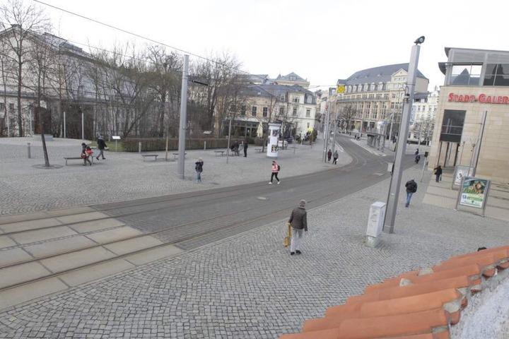 Der Angriff passierte auf dem Postplatz. (Archivbild)