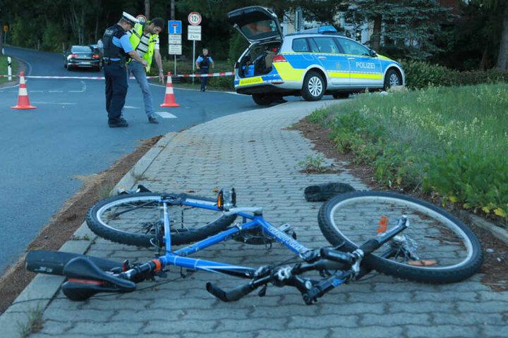 Im Juli starb ein 52-jähriger Radfahrer bei einem Kreuzungs-Crash in Dippoldiswalde.