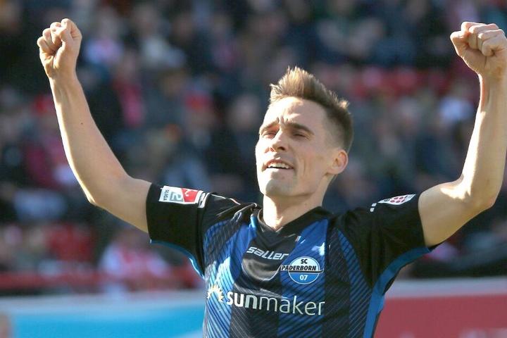 Auch über einen Treffer gegen den SV Sandhausen durfte der 26-Jährige jubeln.