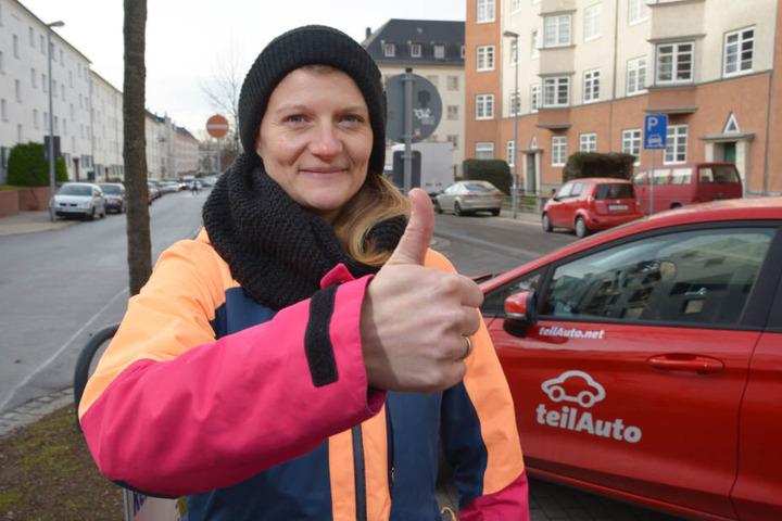 Grünen-Stadträtin Christin Furtenbacher (34) wünscht sich, dass der Übungsort auch für Privatnutzung zur Verfügung steht.