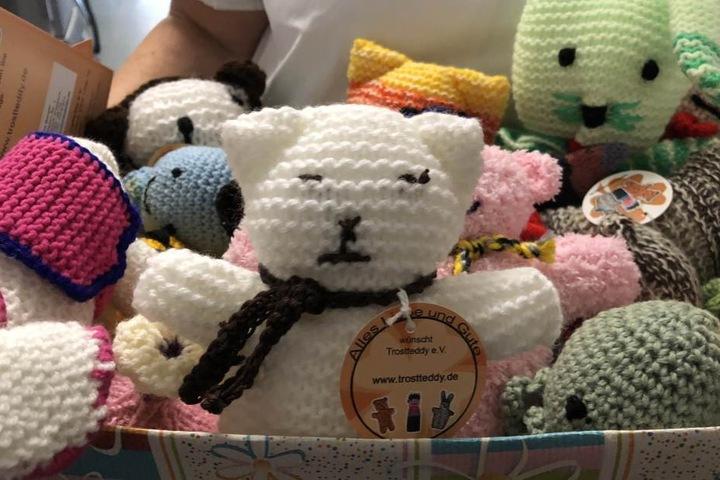 Süße überraschung Teddys Sollen Kranken Kindern Trost Spenden