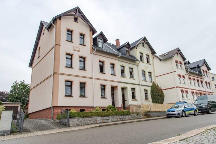 In dem Haus in der Von-Otto-Straße brannte es im Erdgeschoss.