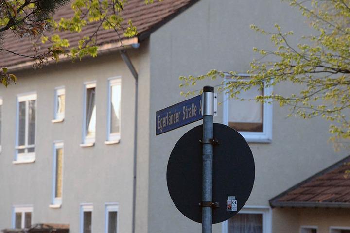 In der Egerländer Straße spielte sich die Bluttat ab.