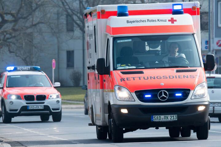 Mit einem Rettungswagen musste Sabia Boulahrouz ins Krankenhaus gebracht werden (Symbolbild).
