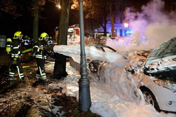 Rund zwei Stunden dauerte der Einsatz der Feuerwehr.