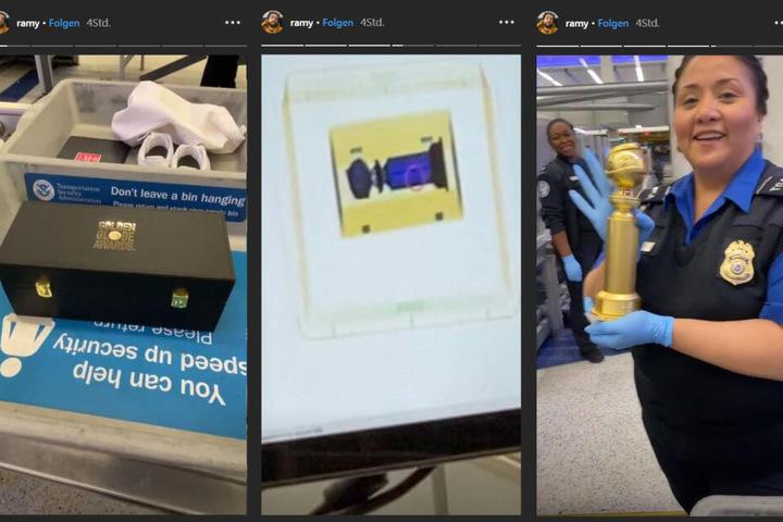Der Preis wurde ganz genau geprüft, wie Ramy Youssef in seiner Instagram-Story zeigte.