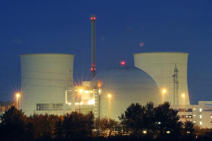 Der Block B des Atomkraftwerkes in Biblis ist bereits abgeschaltet.