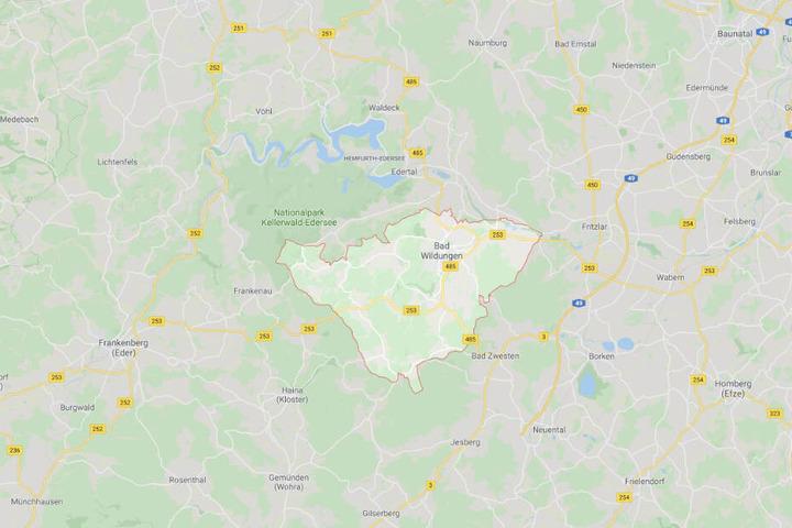 Der Vorfall spielte sich im nordhessischen Bad Wildungen ab.