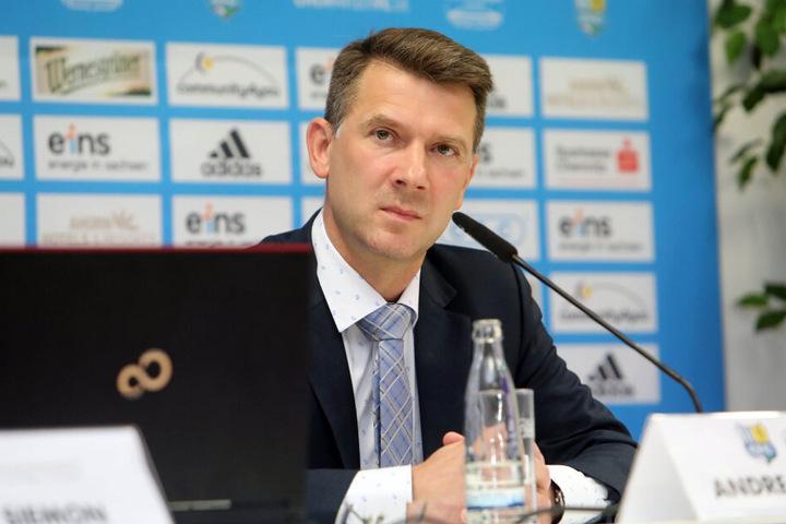 CFC-Vorstands-Chef Andreas Georgi.