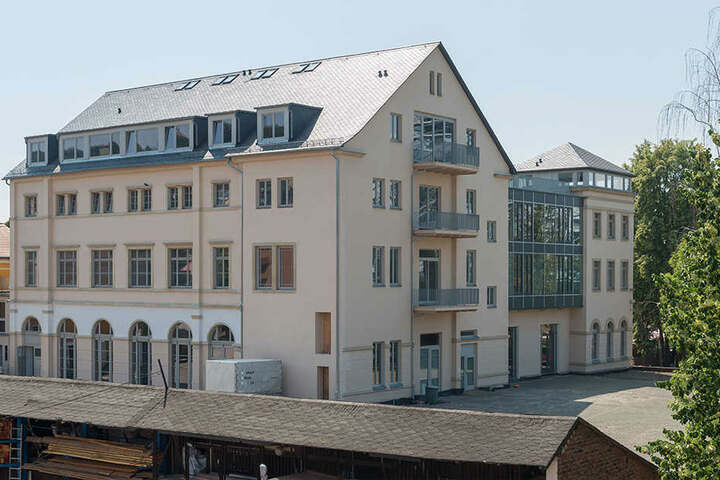 Das ehemalige Hotel Demnitz wird seit mehr als zehn Jahren saniert.