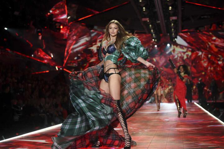 """Gigi Hadid ist seit 2015 fester Bestandteil der """"Victoria's Secret""""-Show."""