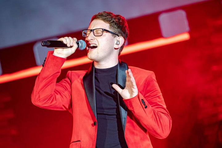 """Samuel Rösch (24) gewann 2018 die Sat.1-Show """"The Voice of Germany""""."""
