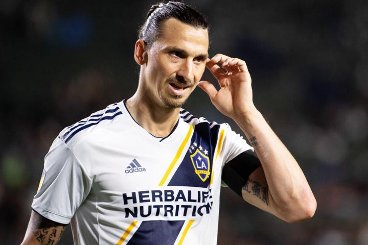 Superstar Zlatan Ibrahimovic schnürt aktuell für Los Angeles Galaxy seine Fußballschuhe.